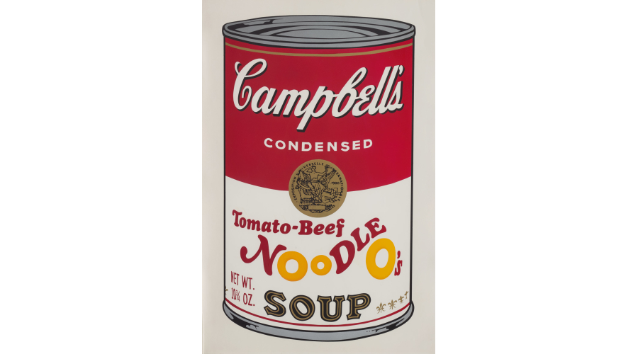 ANDY WARHOLTomato-Beef Noodle O's, from Campbell's Soup II, 1969