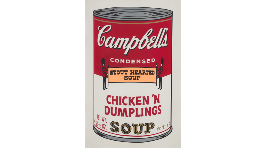 ANDY WARHOLChicken 'N Dumplings, from Campbell's Soup II, 1969