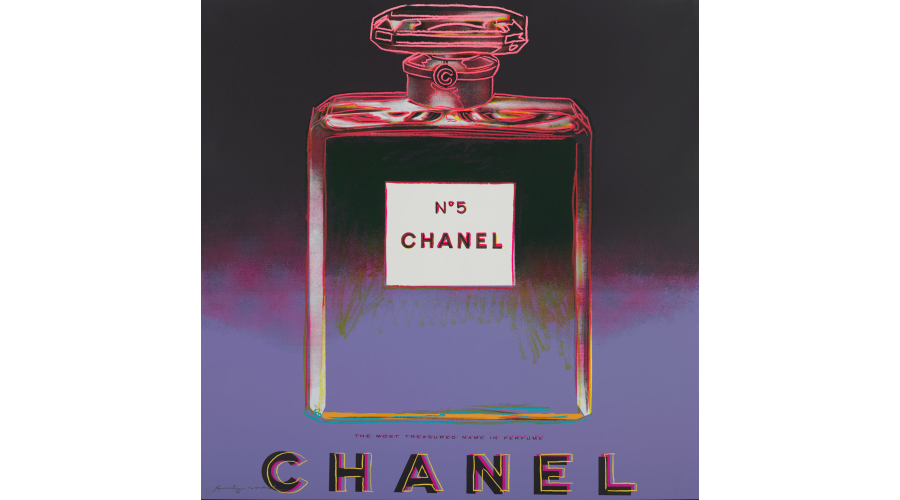 ANDY WARHOLChanel, from Ads, 1985.