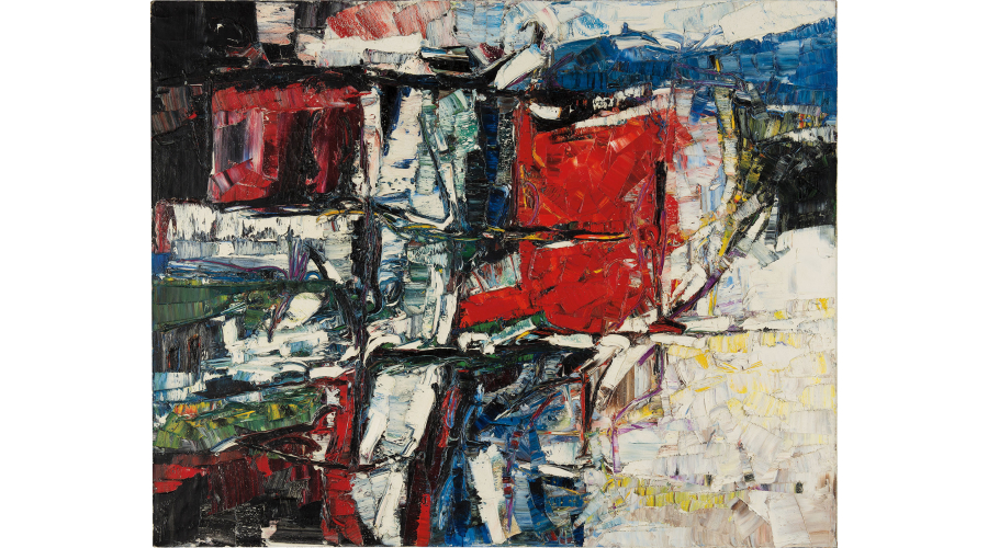 JEAN-PAUL RIOPELLE Port Coton, circa 1959