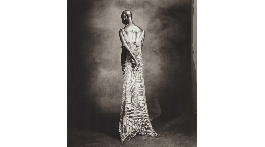 IRVING PENN Callot Swallow-tail Dress, 1974