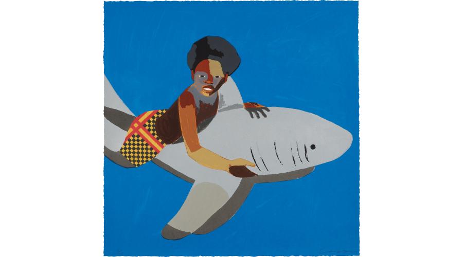 DERRICK ADAMS Shark Float, 2017