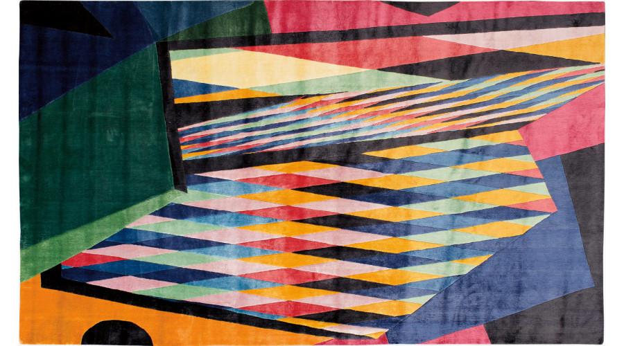ALESSANDRO MENDINI Unique rug, 2017