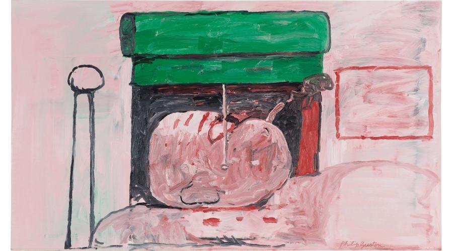 PHILIP GUSTON Smoking II, 1973