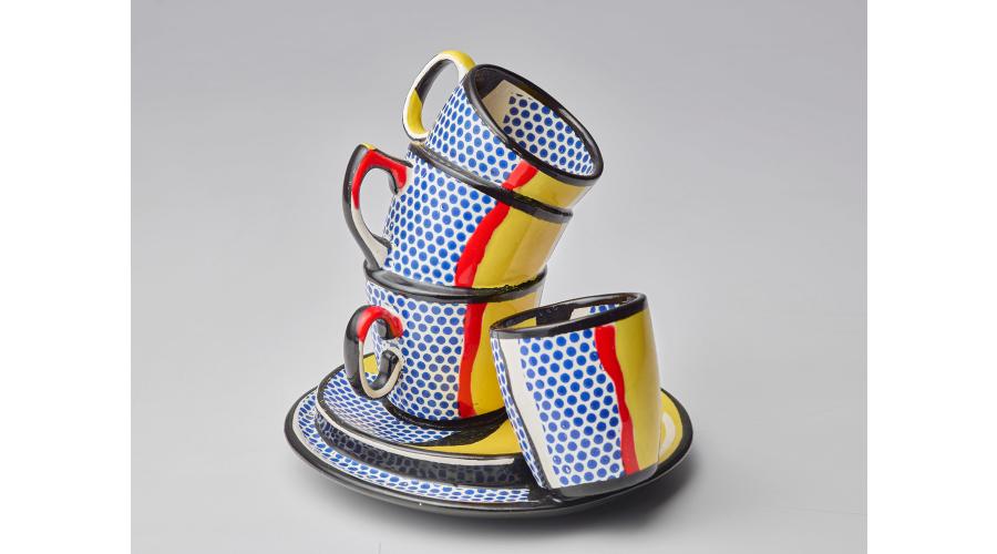 ROY LICHTENSTEIN Ceramic #10, 1965