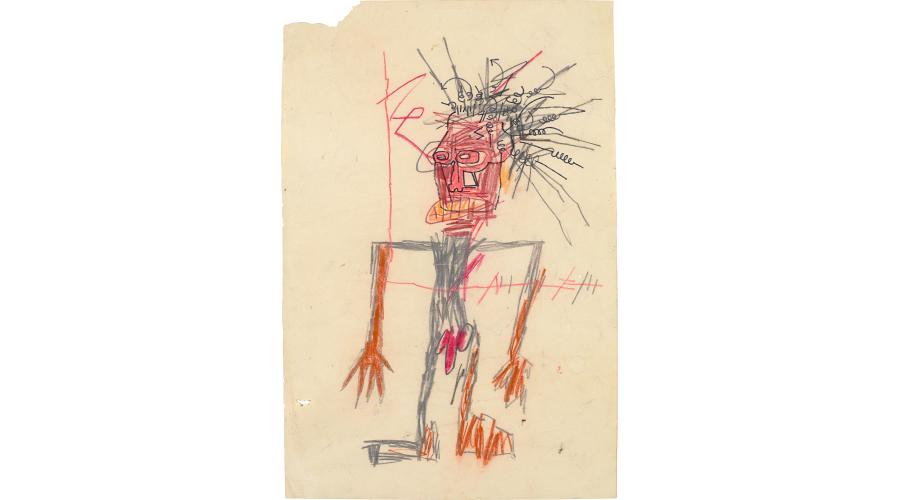 JEAN-MICHEL BASQUIAT Untitled (Standing Male Figure), 1982
