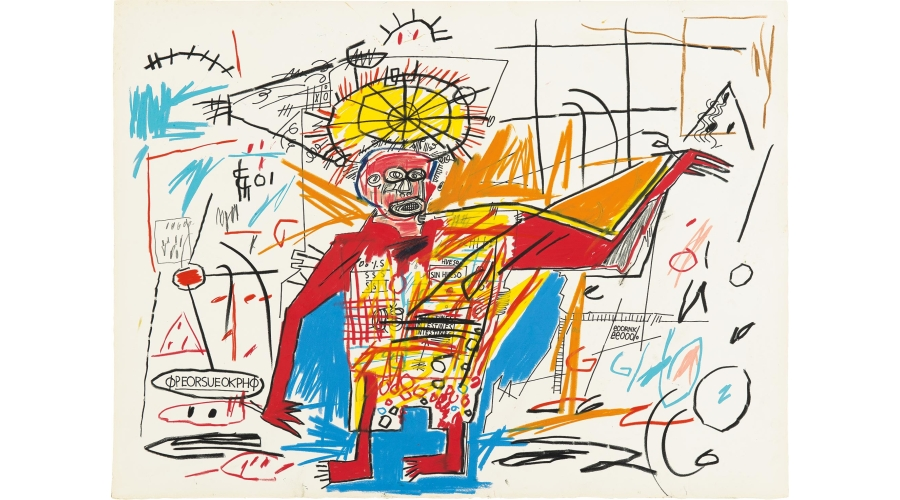 JEAN-MICHEL BASQUIAT Robot Man, 1983