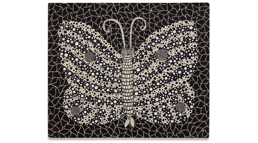 YAYOI KUSAMA Butterfly, 1982