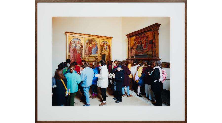 THOMAS STRUTH Museo del Vaticano 1, Roma, 1990