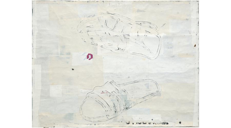 MARK BRADFORD Killer Shoes, 2006