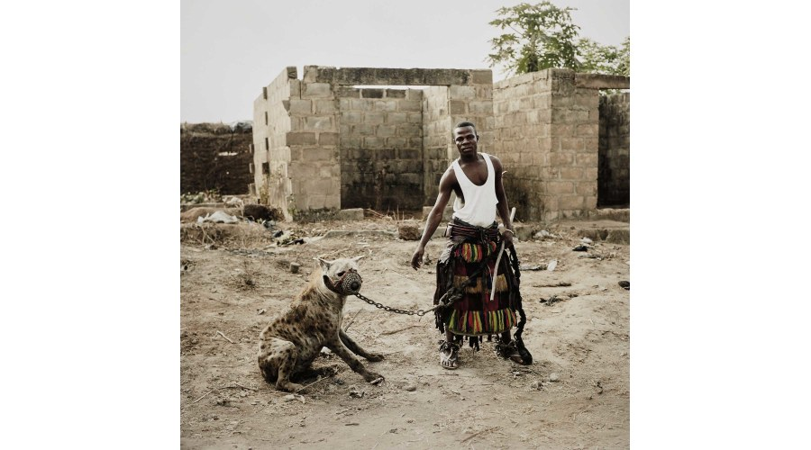 PIETER HUGO Jatto with Mainasara, Ogere-Remo, Nigeria from Hyena and Other Men, 2007