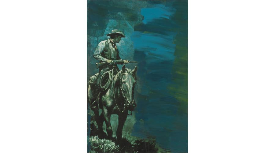 RICHARD PRINCE Untitled (Cowboy), 2012