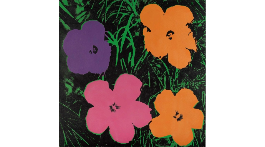 ANDY WARHOL Late Four-Foot Flowers, 1967