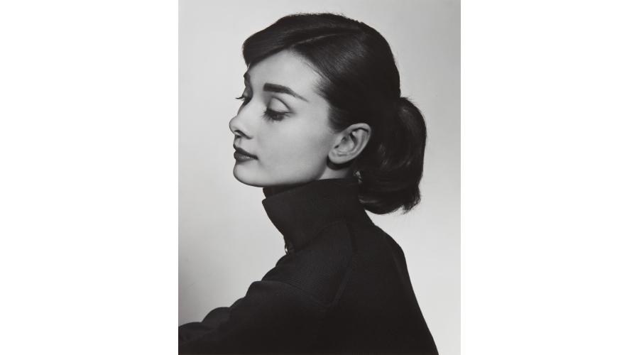 YOUSUF KARSH Audrey Hepburn, 1956
