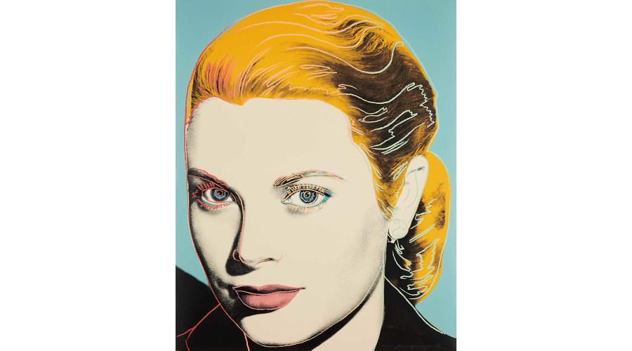 ANDY WARHOL Grace Kelly, 1984