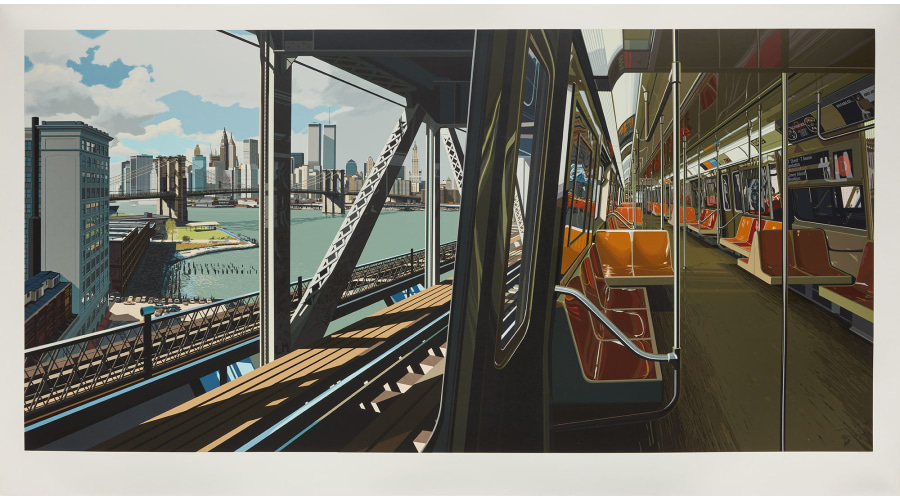 RICHARD ESTES D Train, 1988