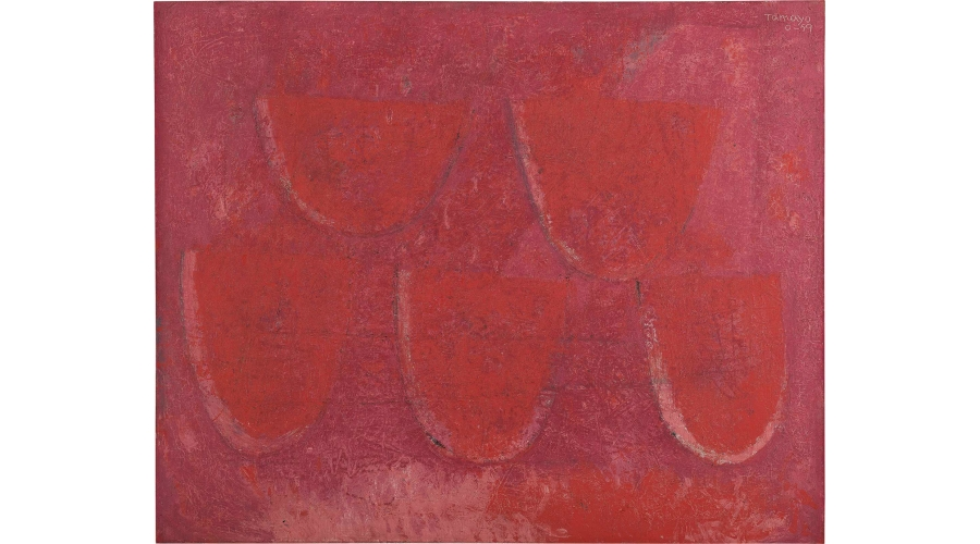RUFINO TAMAYO Cinco Rebanadas de Sandía, 1959