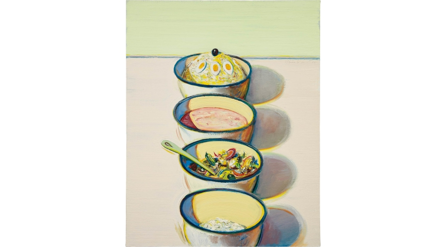 WAYNE THIEBAUD Food Bowls, 2005