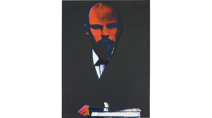 ANDY WARHOL Lenin, 1986
