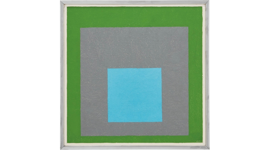 JOSEF ALBERS Study to Homage to the Square, 1954