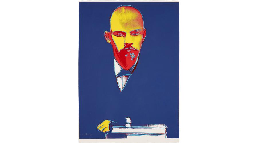 ANDY WARHOL Lenin, 1986-1987