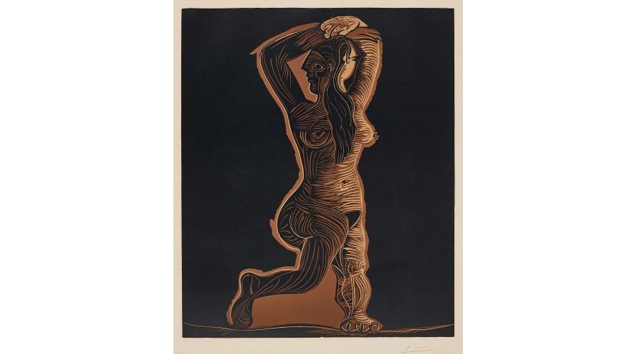 PABLO PICASSO Grand nu de femme (Large Nude Woman)