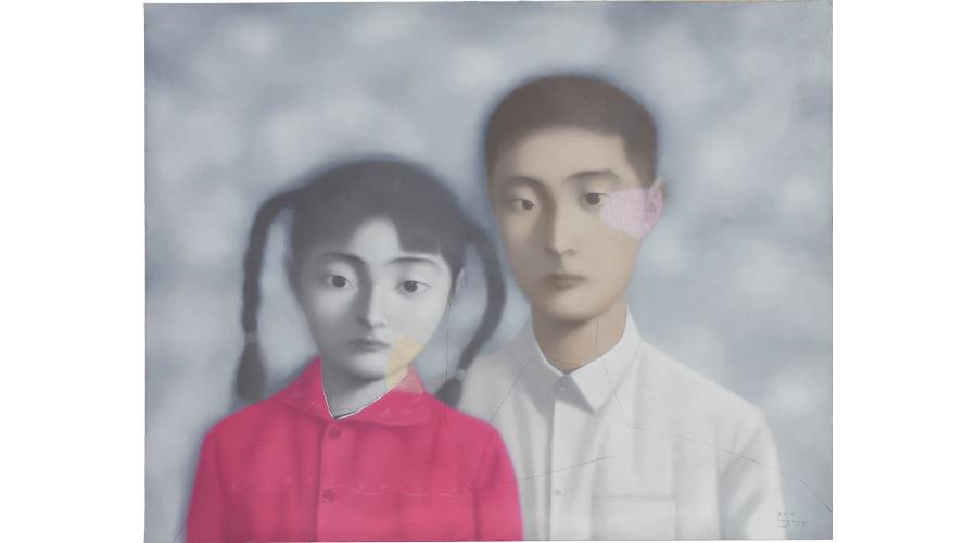 ZHANG XIAOGANG, Bloodline: Big Family No. 11, 1998