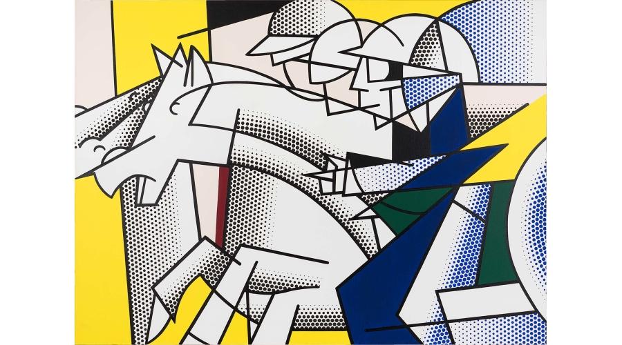 ROY LICHTENSTEIN Horse and Rider, 1976