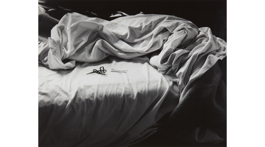IMOGEN CUNNINGHAM The Unmade Bed, 1957