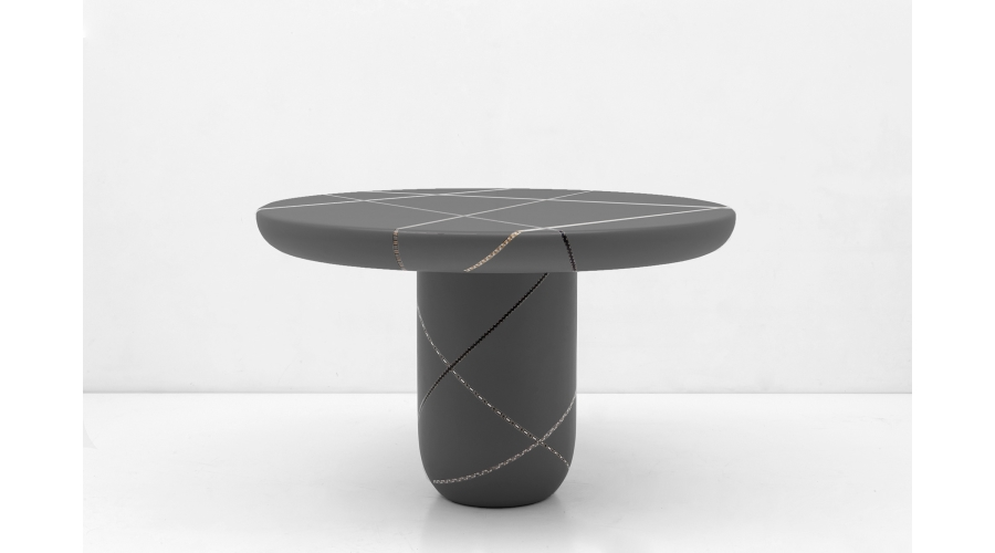NADA DEBS Marquetry Mania Dining Table, 2018