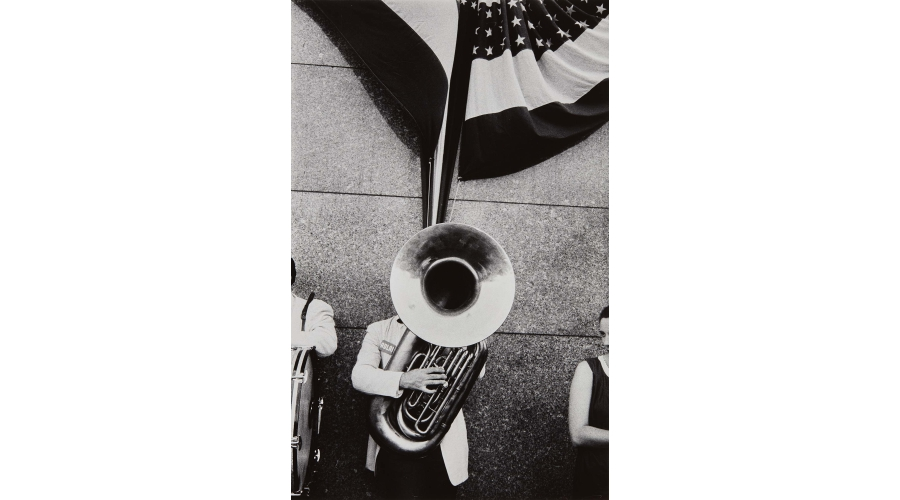 ROBERT FRANK Chicago-Political Rally, 1956