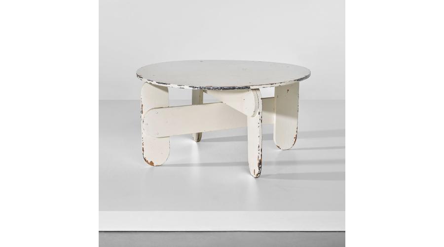 GERRIT THOMAS RIETVELD Unique low table, circa 1939