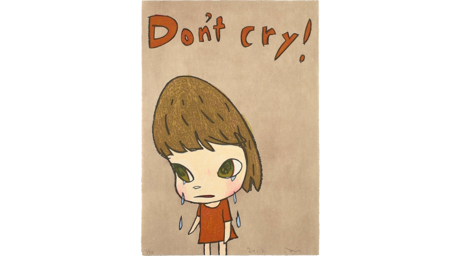 YOSHIMOTO NARA Don't Cry, 2012