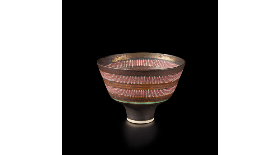 LUCIE RIE Straight-sided bowl