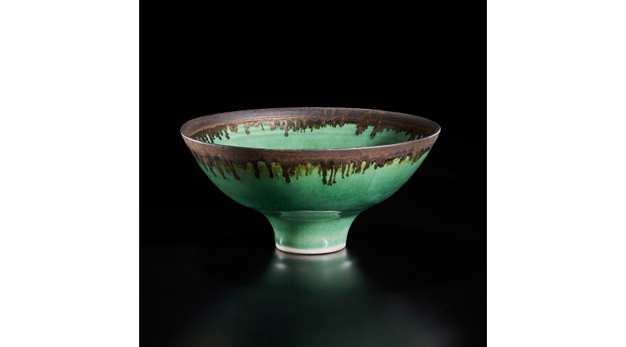 LUCIE RIE Footed bowl