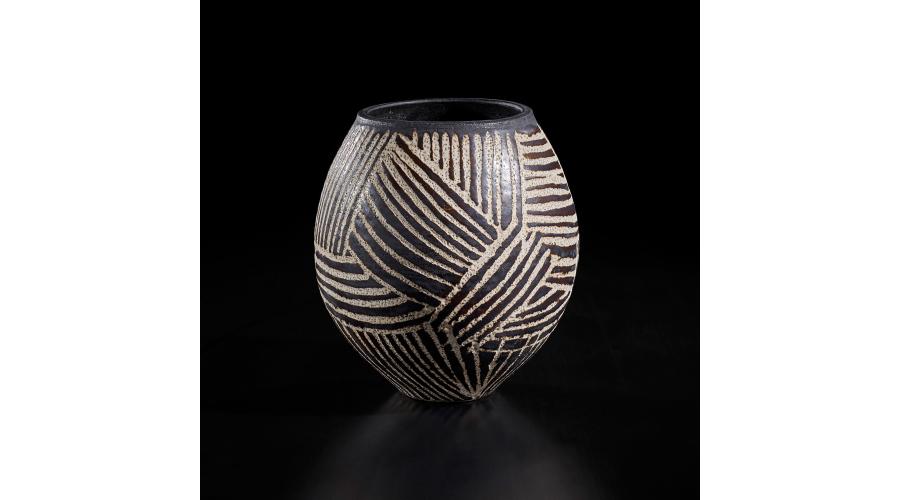 HANS COPER Early stoneware vase