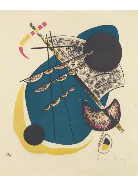 Wassily Kandinsky - Kleine Welten II (Little Worlds II