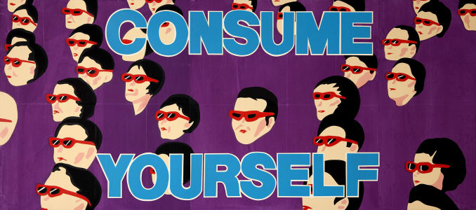 LES LEVINE Consume Yourself, 1987
