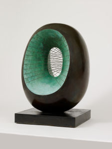 Barbara Hepworth Spring, 1965, cast 1966. Bronze with strings. Hepworth Estate, on long loan to The Hepworth Wakefield (Wakefield Permanent Art Collection). Arts Council Collection, Southbank Centre, London © Bowness, Hepworth Estate