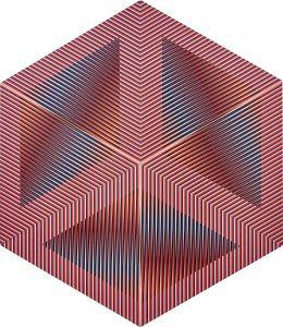 CARLOS CRUZ-DIEZ Color aditivo permutable, 1982