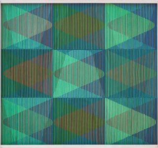 CARLOS CRUZ-DIEZ Physichromie 153, 1965