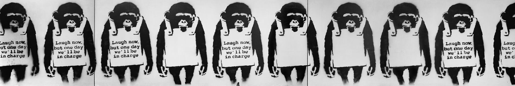 BANKSY Laugh Now, 2002