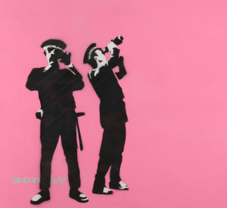 BANKSY Avon and Somerset Constabulary (Pink), 2000