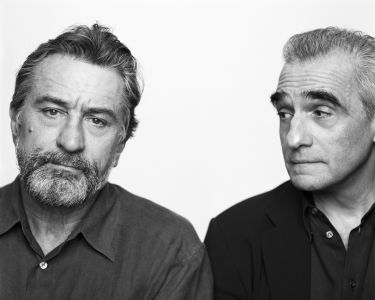 BRIGITTE LACOMBE Robert De Niro and Martin Scorsese, New York, N.Y., 2002
