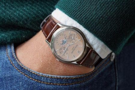 PATEK PHILIPPE Reference 3940G-029 with salmon dial