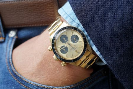 ROLEX Daytona Reference 6263 in 18K yellow gold