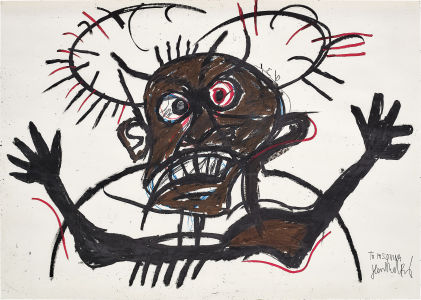 JEAN-MICHEL BASQUIAT Untitled, 1981