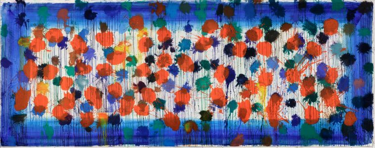 HOWARD HODGKIN As Time Goes By (Blue), 2009
