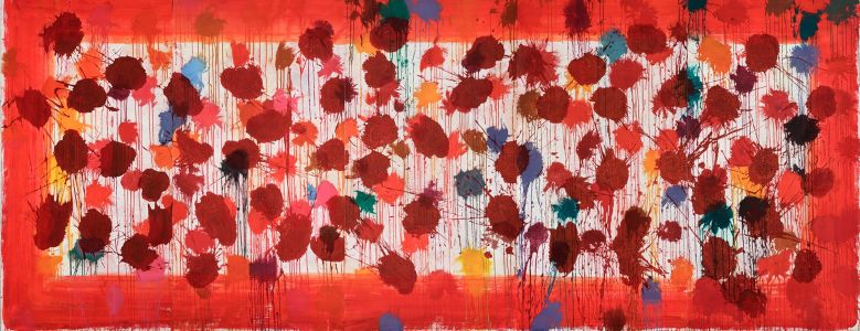 HOWARD HODGKIN As Time Goes By (Red), 2000
