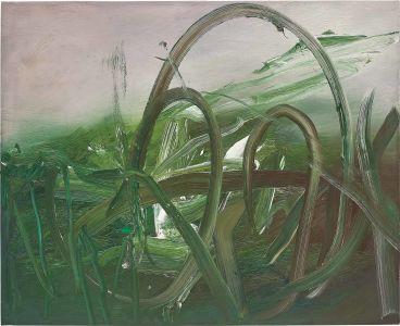 GERHARD RICHTER Busch (Scrub), 1985